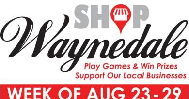 VOLUNTEERS ANNOUNCE UPCOMING 'SHOP WAYNEDALE' WEEK