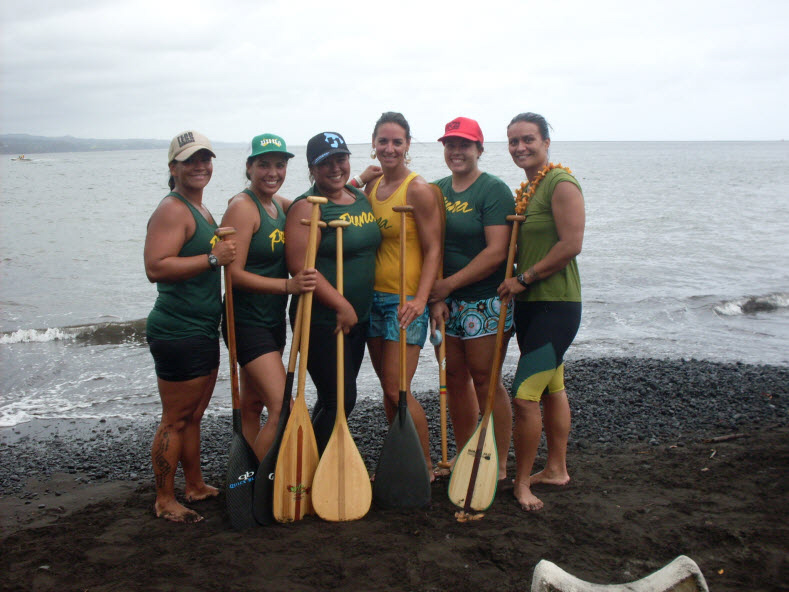 "The women of Puna, consider the ""backbone"" of the club"