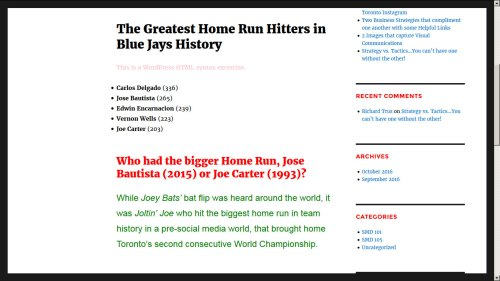 Blue Jays Facts
