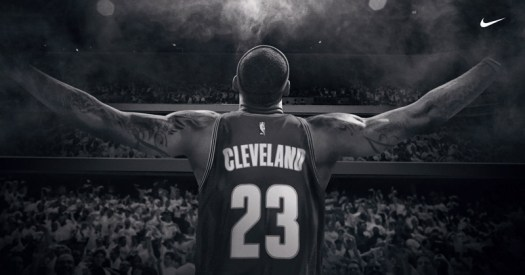 LeBron James image courtesy of Nike