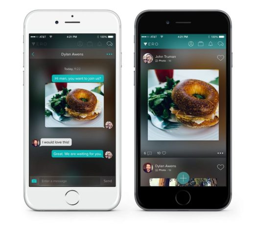 Vero provides a clean and polished interface.