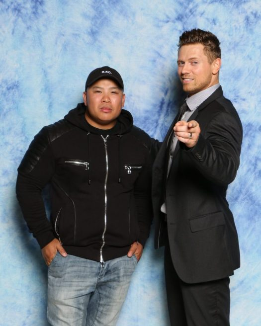 The Miz was a real stand up guy to meet in person!