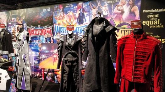 Outfits worn at various WrestleMania's over the years
