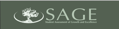 Image result for SAGE Student Assessment of Growth and Excellence