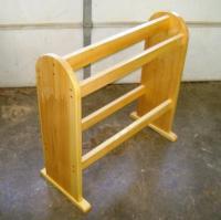 Free Quilt Rack Plans - How To Build Blanket Racks