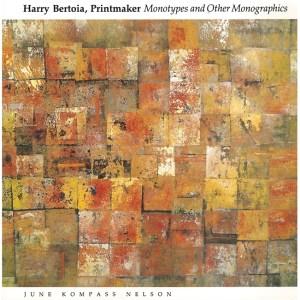 Harry Bertoia, Printmaker cover