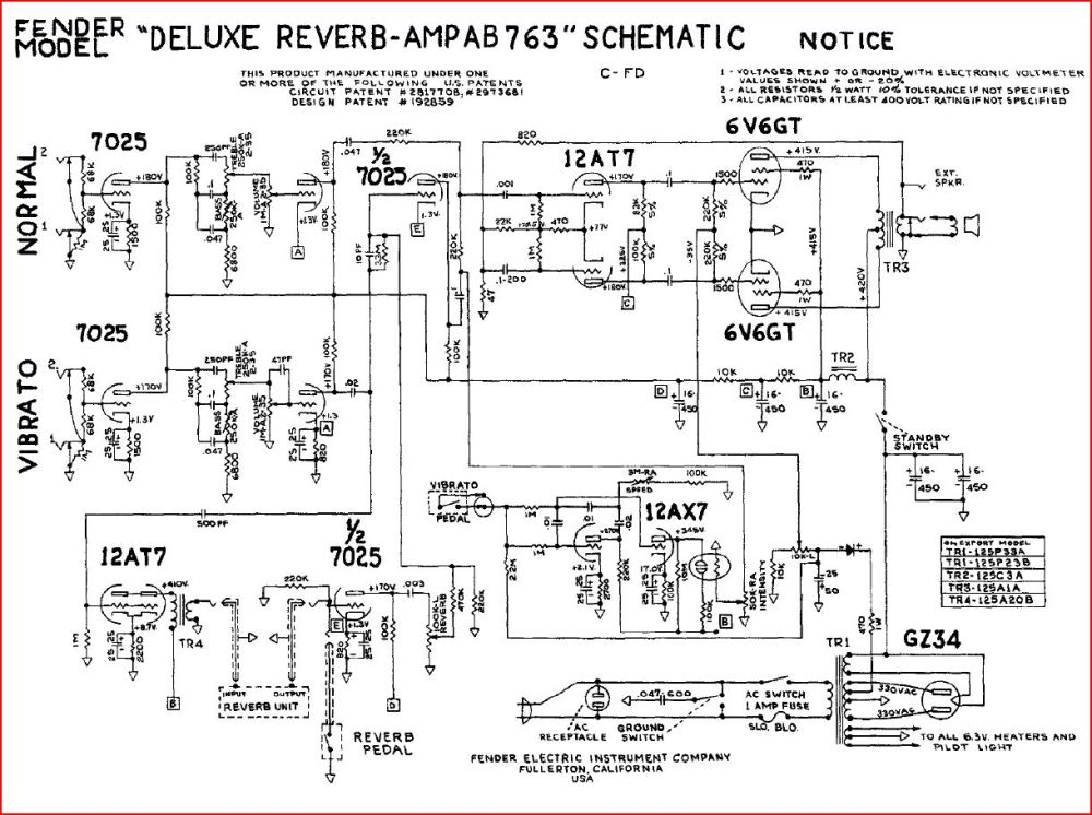 medium resolution of rebuild discussions rebuilding a fender deluxe reverb tube amplifier rh waynereno com fender hot rod deville 410 schematic fender hot rod deville 410