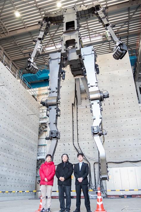 GUNDAM GLOBAL CHALLENGE 開発現場見学会