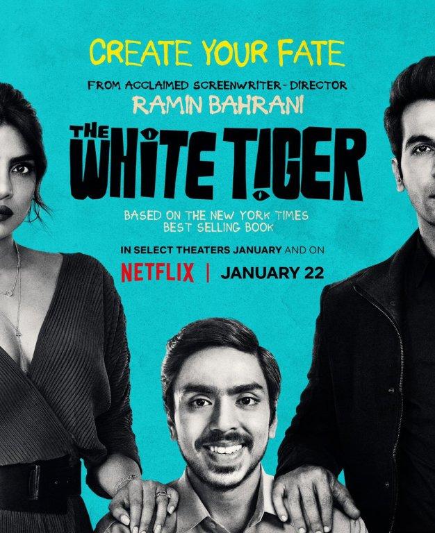 暢銷書改編電影《白老虎/THE WHITE TIGER》介紹,1月22日NETFLIX上映
