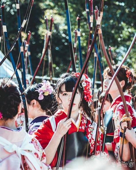 SANJUSANGENDO ARCHERY CONTEST - KYOTO, JAPAN