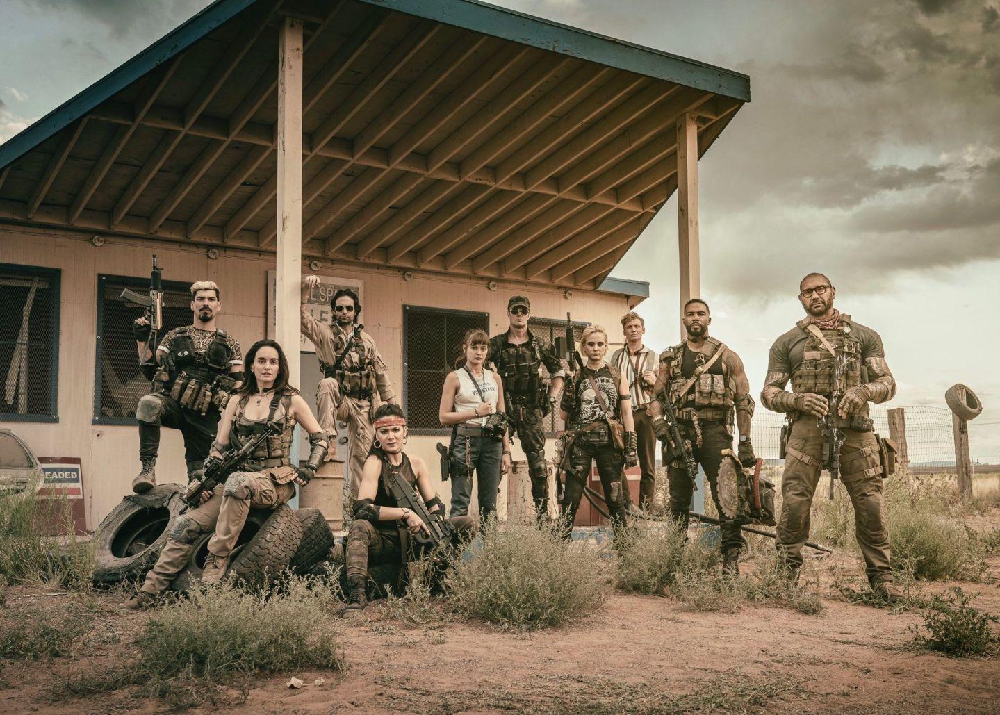查克·史奈德電影《活屍大軍/不死喪軍》公佈正式前導預告,5月21日Netflix上線