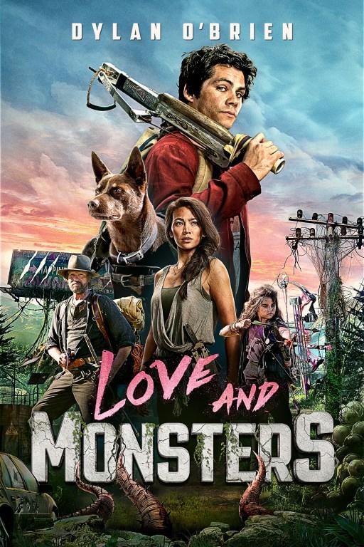 電影《愛與怪物》將在4月14日於NETFLIX上架,電影獲奧斯卡最佳視覺效果獎提名