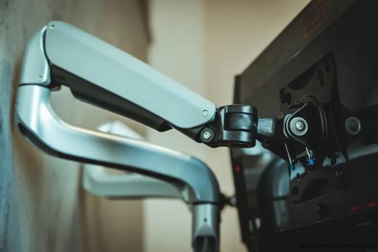 iErgoArm® 延伸軸 氣壓式 雙螢幕支架 12