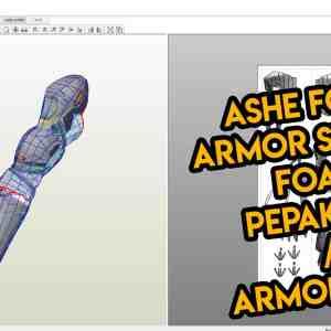 Pepakura Template Overwatch Ashe