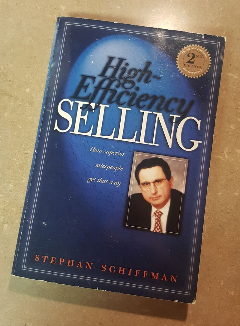 Hi Efficiency Selling Book