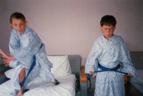 Aikido stances