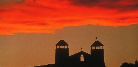 Sunsets in Santa Fe