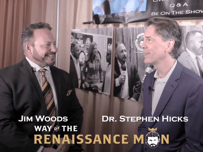 Fighting the Intellectual Battles of our Time with Rockstar Philosopher Stephen Hicks on Way of the Renaissance Man starring Jim Woods