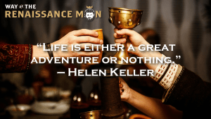 adventure or nothing helen keller quote