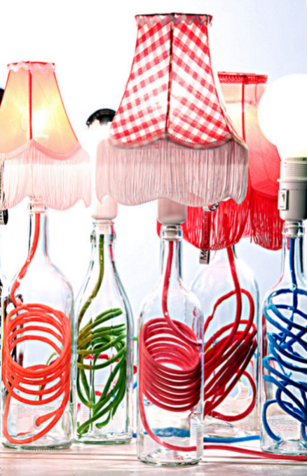 Wayome Upcycling bouteille lampe 2