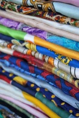 Wayome Upcycling de la soie et encore de la soie travers soie