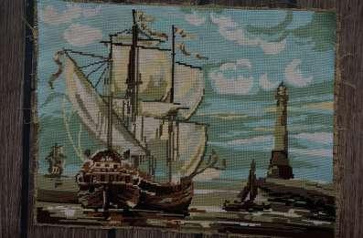 Wayome Upcycling petit florilège de canevas bateau