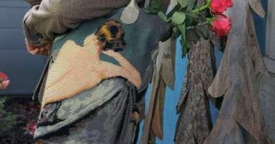 Wayome upcycling mise en situation du cabas en canevas modèle nu image une