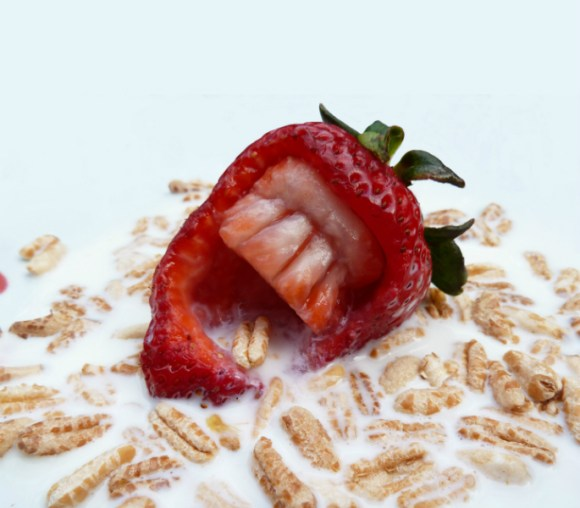 strawberry-and-cereal