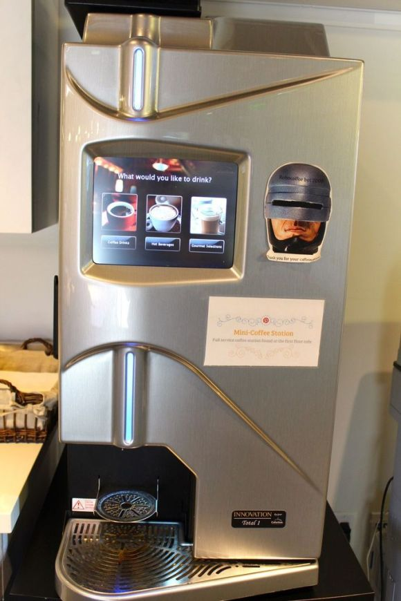 The Robo Coffee Bot