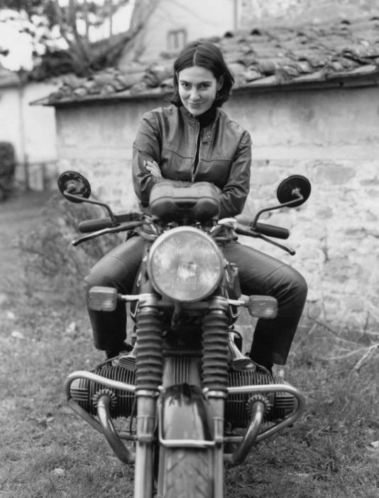 Marina from Italy had a very long and hard work to buy a coveted motorcycle.