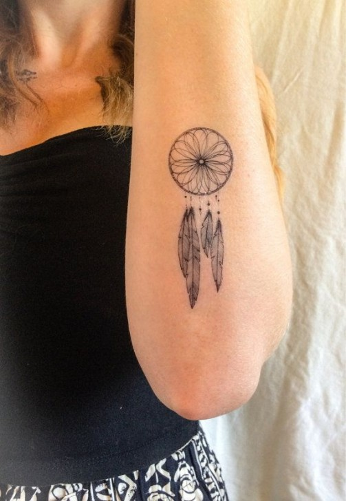 Dreamcatcher Tattoos 10