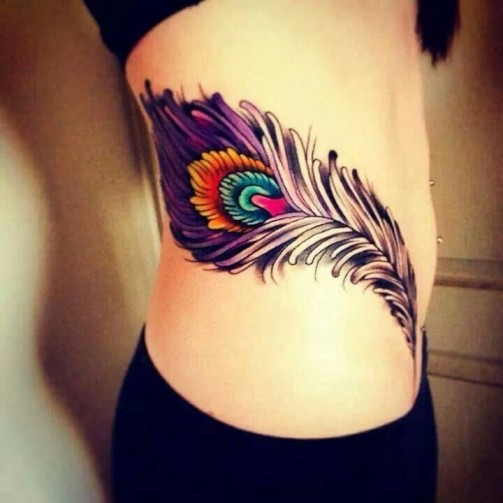 Feather tattoo17