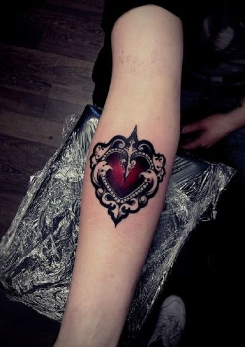 Heart Tattoos 14