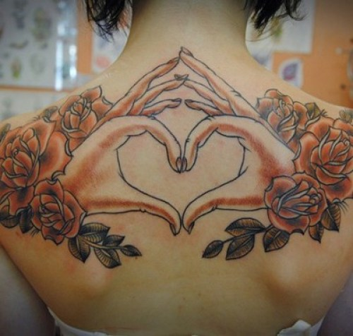 Heart tattoo(11)