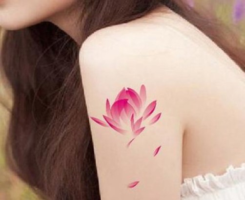 Lotus Flower Tattoo 15