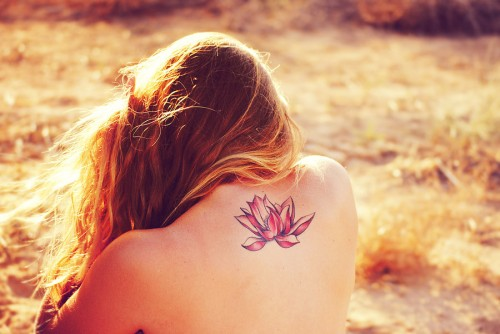 Lotus-Flower-Tattoos 21