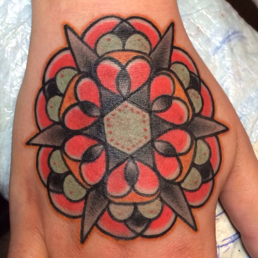 Mandala Tattoo10