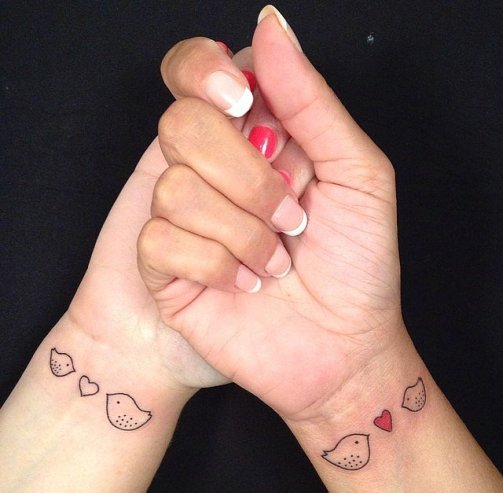 Mother daughter tattoo5