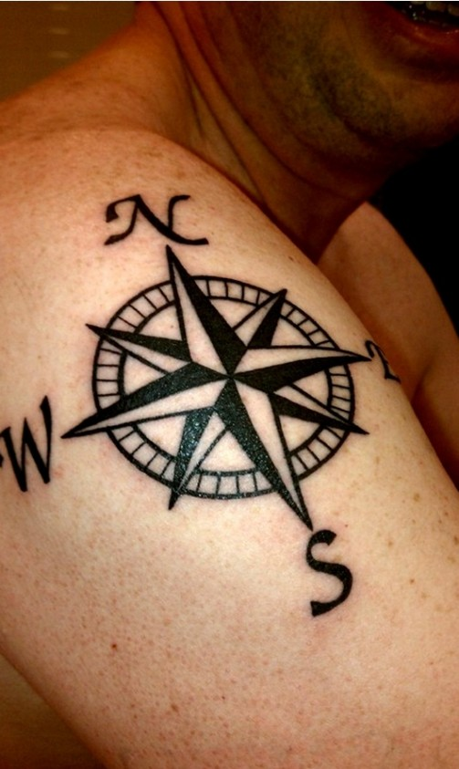 compass-tattoo-designs-9