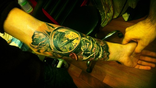 compass tattoo5