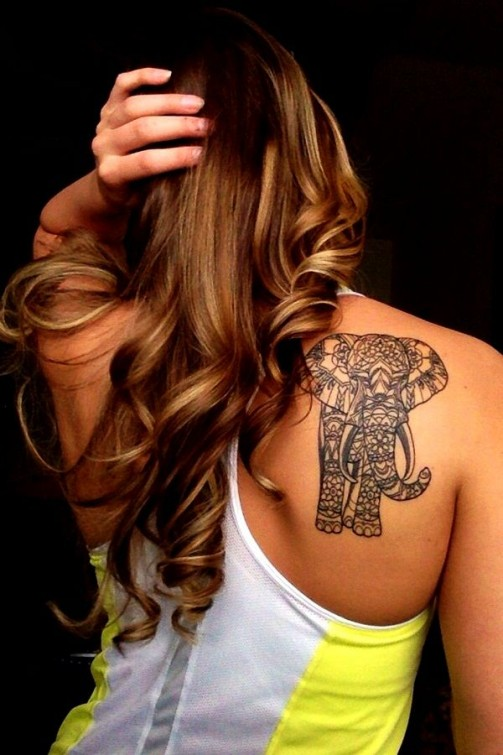 elephant tattoo2