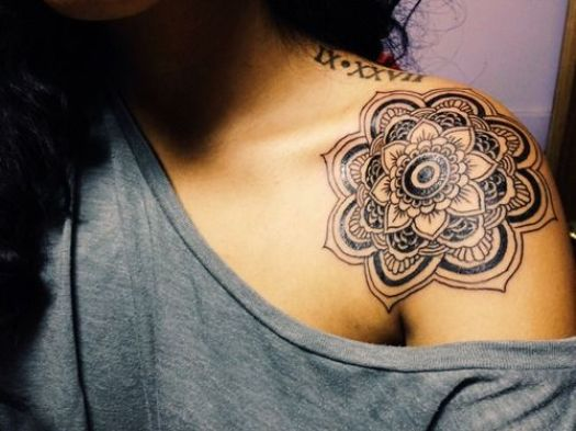 mandala tattoo 10