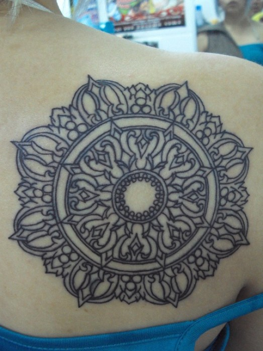 mandala tattoo 12