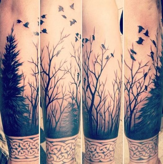 0ffff099c Best tattoo design for Arm. Image Source: oddstuffmagazine