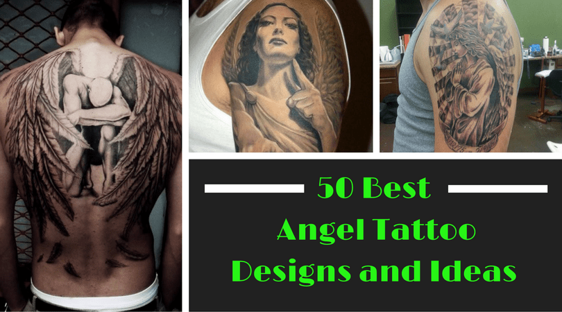 50 Best Angel Tattoo Designs and Ideas