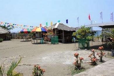 fiesta nipa huts