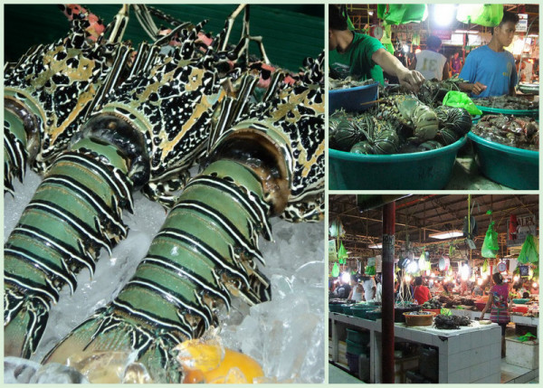 Seafoods in Boracay