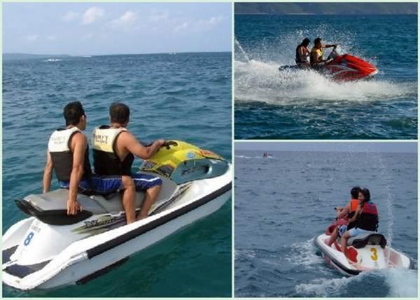 Jet Skiing in Boracay
