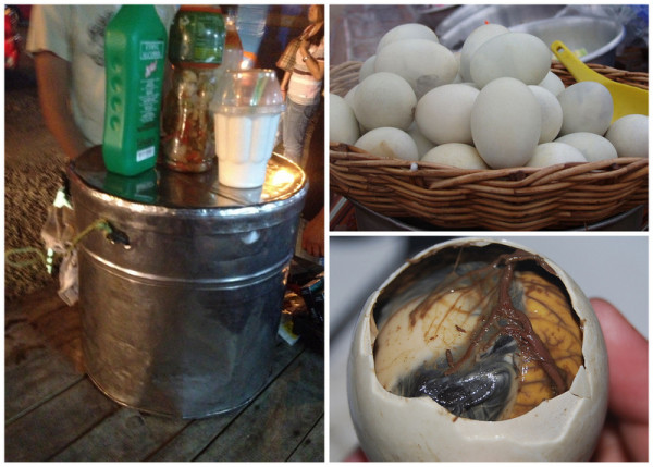 Balut Pinoy Street Foods