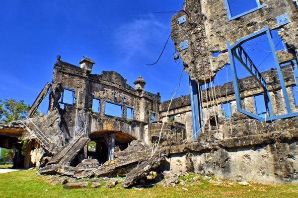 Corregidor ruin